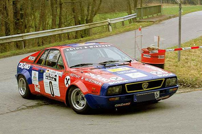 lancia beta monte carlo group 4 (1975) - racing cars