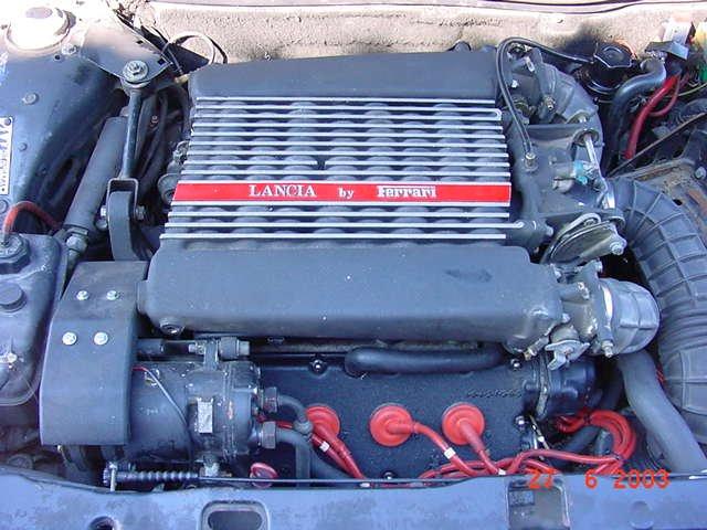 Lancia Thema 832. Original engine in Thema 8.32